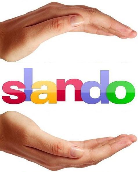 Фирменные руки обнимающие логотип