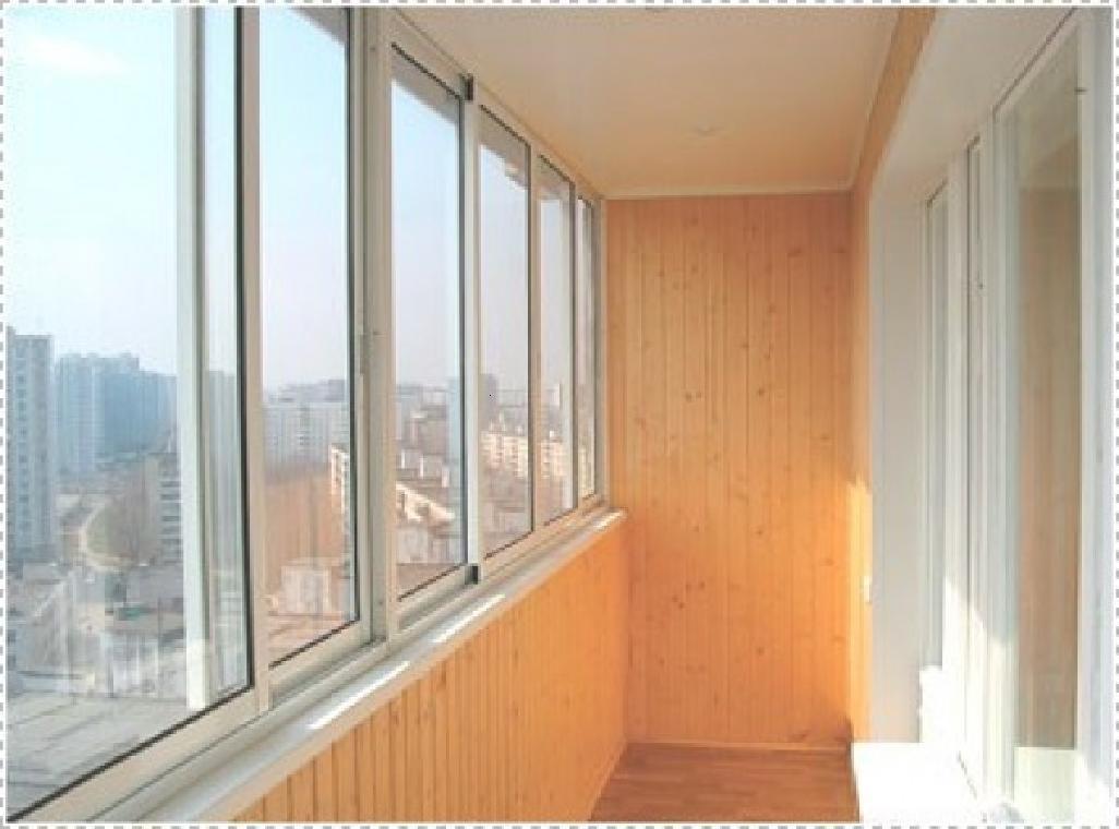 Ремонт алюминиевых балконов.